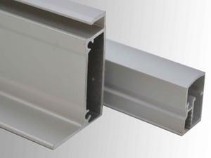 Anodised aluminium extrusion