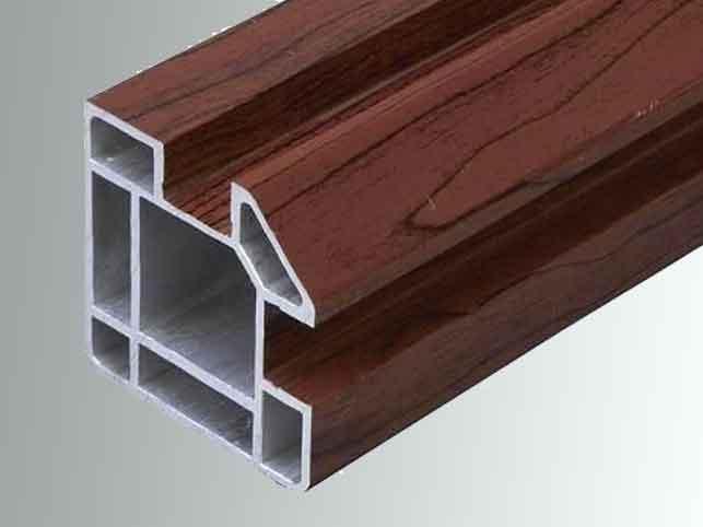Laminated aluminium extrusion