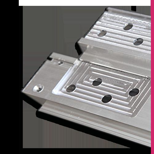 Fabricated aluminium extrusion
