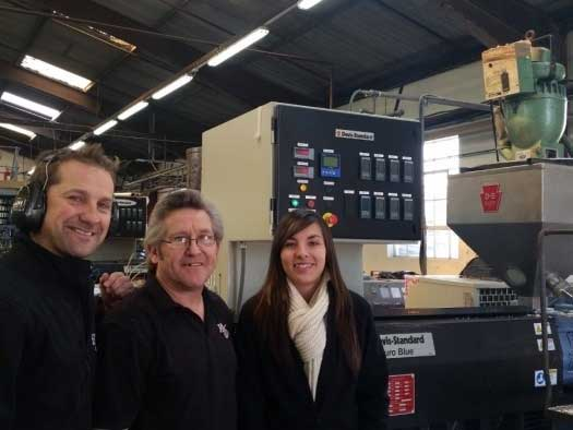 New plastic extrusion line commissioned