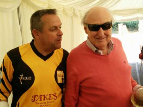 Sales director Marc stars for Lashings Cricket Club