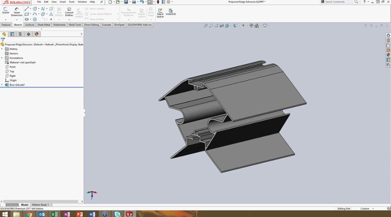 Solidworks Extrusion-1-1