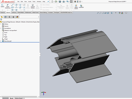 Solidworks Extrusion